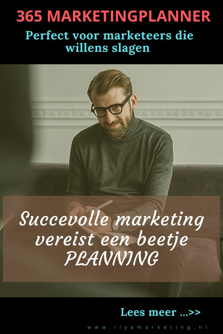 Downlaod hier je 365 marketingplanner